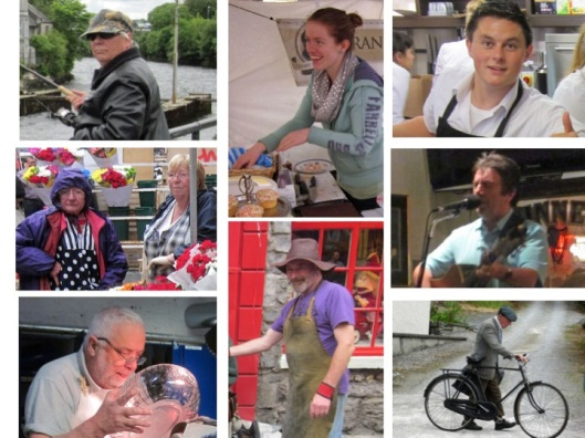 Irish People Composite