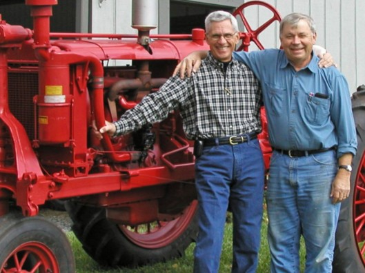 Keith and Jim in Blacksburg, VA; fast friends for 45 years.
