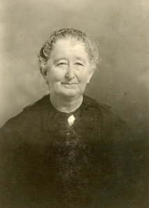 Elizabeth (Hopf) Burger, born September 29, 1844; mother of 12 children; died October 21, 1921.