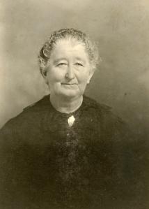 Elizabeth (Hopf) Burger, born September 29, 1844; mother of 12 children; died October 21, 1921.