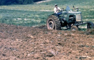 The 5th generation plowing the land.