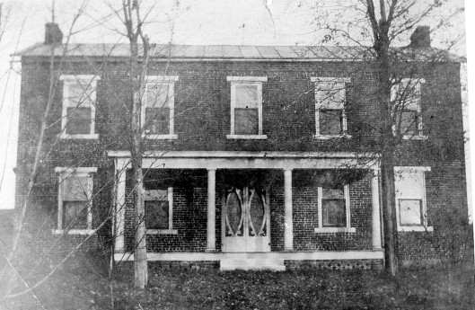 The brick house that Jacob built became home for 5 generations.
