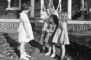 Margye, Lou, Dorothy, and Sadie.