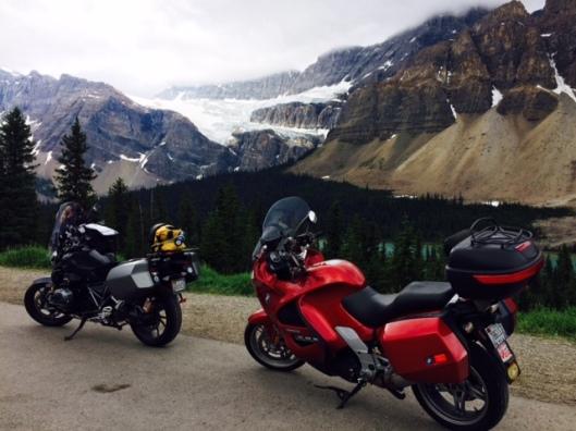 Bikes & Crowsfoot Glacier