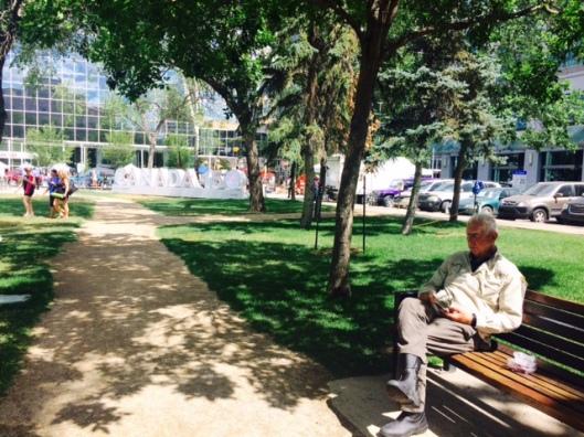 Richard in Park