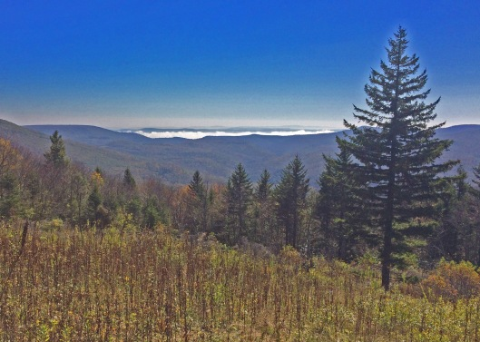 Highland Scenic Road-Fog in Valley
