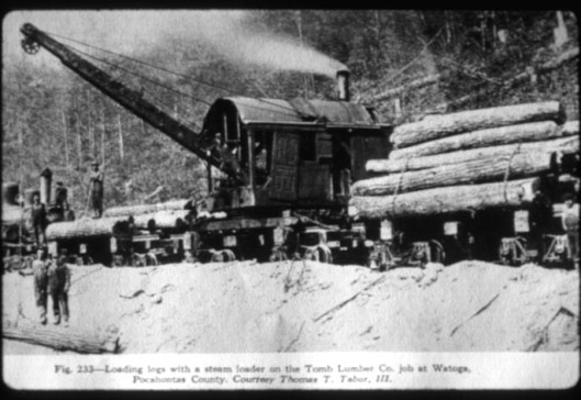 Loading logs on train