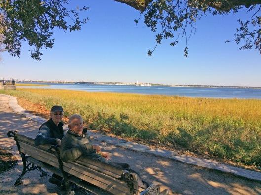 Don and Richard Charleston Bay-1