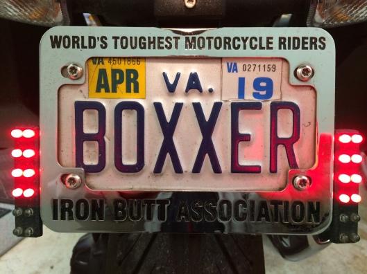 Iron Butt Plate Frame