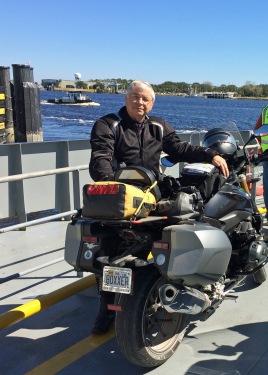 Jim on Mayport Ferry