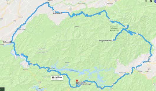Route SMNP